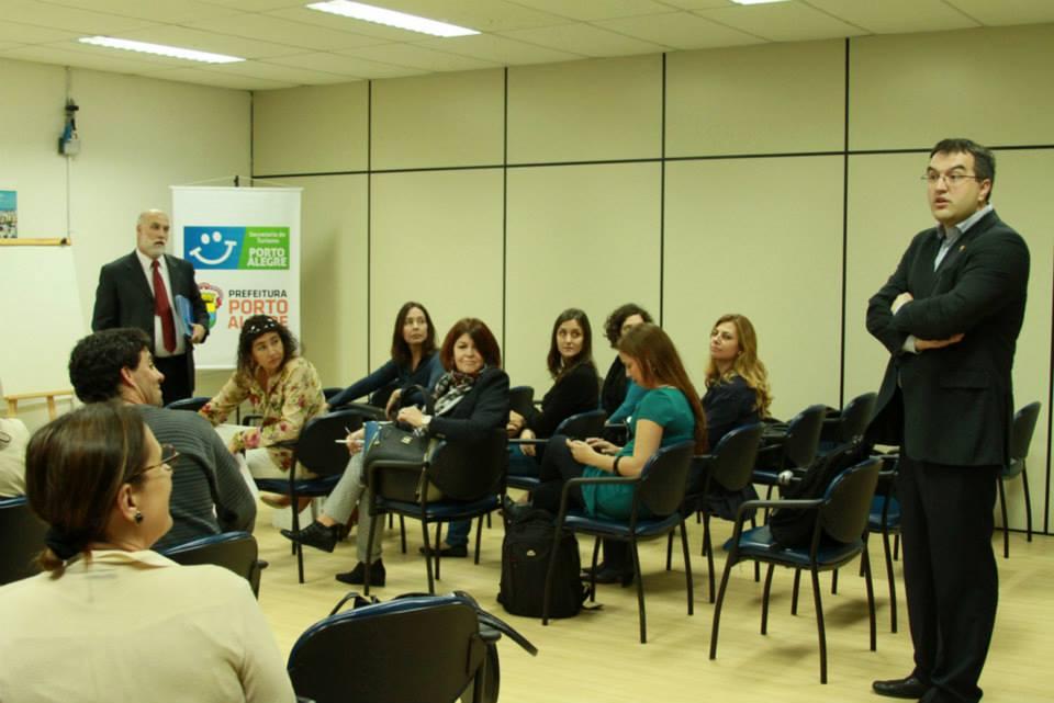 Cerrito expone sobre biodigestores en Porto Alegre