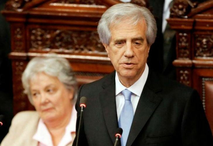 Asumió Tabaré Vázquez en Uruguay